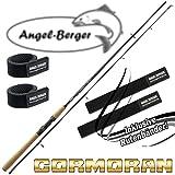 Cormoran I-Cor Red Spin Spinnrute alle Modelle mit Angel Berger Rutenband (1.95m / 3-12g)