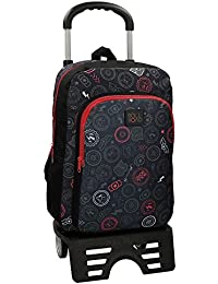 Roll Road Go 41123N1 Mochila Tipo Casual, 40 cm, 15.60 Litros, Multicolor