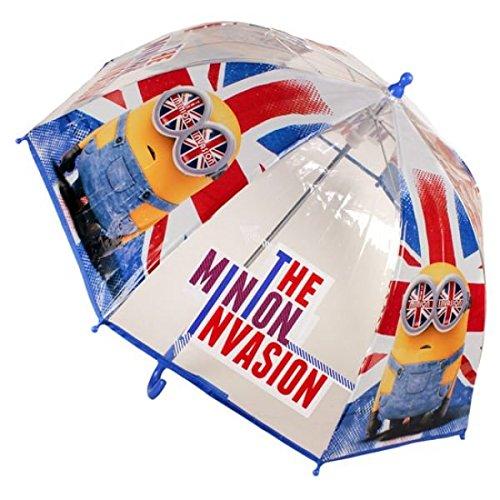 Paraguas manual poe burbuja de Minions