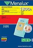 Menalux 1800C - Bolsas para aspiradoras AEG, Electrolux, Philips, Hanseatic, Privileg, Satrap, Tornado, Volta y MIO Star