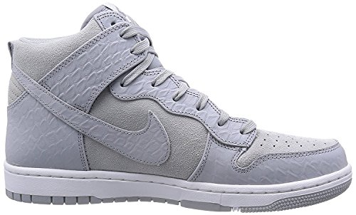 Nike Mens Dunk CMFT Prm Casual Shoe Wolf Grey/White