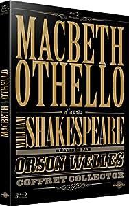 Macbeth & Othello d'après William Shakespeare réalisés par Orson Welles [Édition Collector]