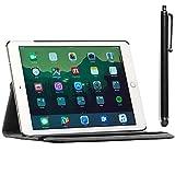 ebestStar - iPad Air 2 Hülle [iPad 6 (Wi-Fi, 3G): 240 x 169.5 x 6.1mm, 9.7''] Rotierend Schutzhülle Etui, Schutz Hülle Ständer Rotating Case Cover Stand, Schwarz