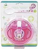 3 Pièces Minnie Disney En Plastique Sans Bpa (micro-onde 2min max) -...