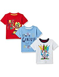 Donuts by Unlimited Baby Boys' T-Shirt (Pack of 3)