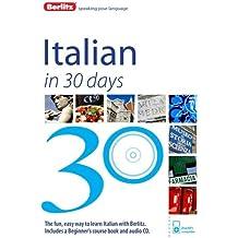 Berlitz Language: Italian In 30 Days (Berlitz in 30 Days)