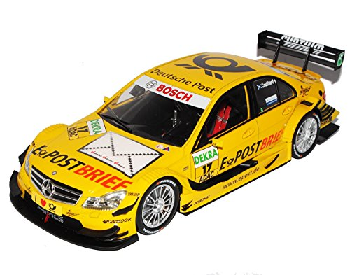 sonderposten-mercedes-benz-c-klasse-w204-no-17-deutsche-post-coulthard-dtm-2011-1-18-norev-modell-au