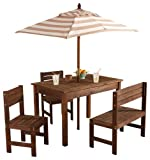 KidKraft Oatmeal & White Outdoor Patio S...