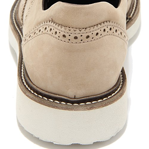 0710L scarpe uomo HOGAN h217 route derby scarpe shoes men Beige