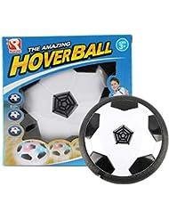 e20c016e5e8d1 Oyamihin Divertido LED Luz Bola Intermitente Juguete Air Power Balón de  fútbol Disco de fútbol de