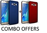 #8: Mobiclonics{COMBO OFFERS}[TWO PRODUCT AT THE PRICE OF ONE] Back Cover for Samsung Galaxy J7 Nxt-[Blue+Red]
