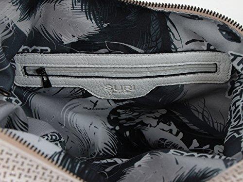 Suri Frey Roxy Schultertasche 42 cm Grey