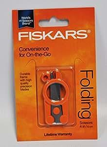 Fiskars Ciseaux pliable compact 10,2cm