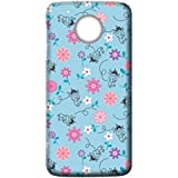 Mott2 Back Case For Motorola Moto G5 | Motorola Moto G5Back Cover | Motorola Moto G5 Back Case - Printed Designer Hard Plastic Case - Girls Theme