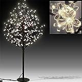 Deuba Kirschblütenbaum LED 220cm 220 LEDs - für Innen und Außen - warmweiß