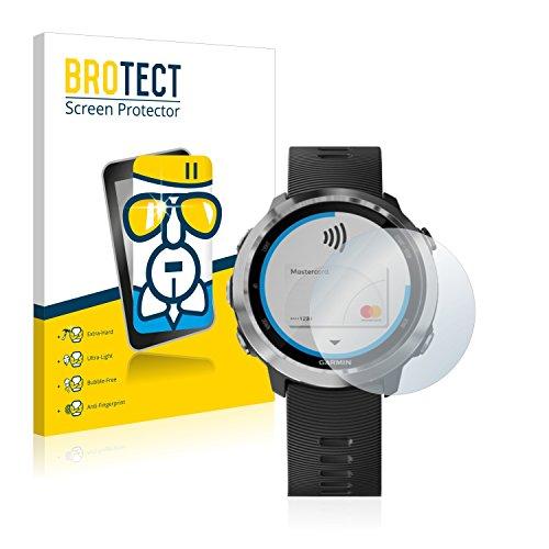 brotect Protection Ecran Verre Compatible avec Garmin Forerunner 645 Film Protecteur Vitre 9H Anti-Rayures, AirGlass
