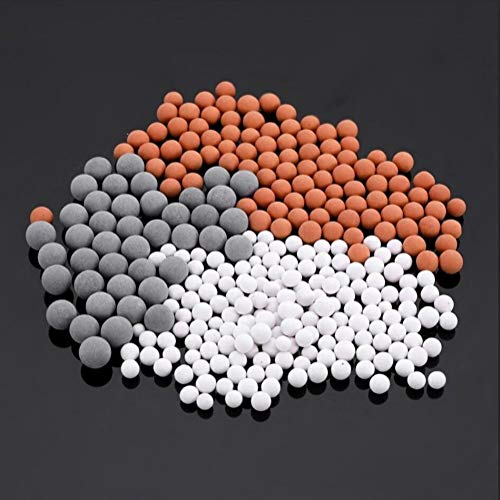 GZSC Duschkopf Therapie Dusche Anion SPA Handbrause Wassersparende Regendusche Duschkopf Hochdruckwasser ABS Badezimmer (Color : Replacement Ball) -