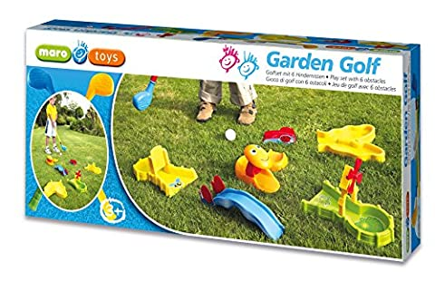 Garden Golf - Golfset mit 6 Hindernissen [Import allemand]