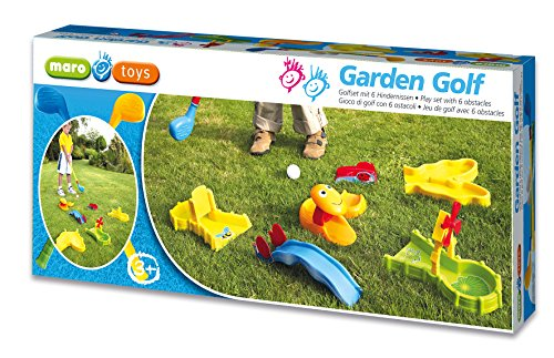 Garden Golf – Golfset mit 6 Hindernissen [Import allemand]