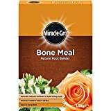 BONE MEAL NATURAL ROOT BUILDER. 1.5kg PACK. GREENER, HEALTHIER TREES + SHRUBS. by Miracle-Gro