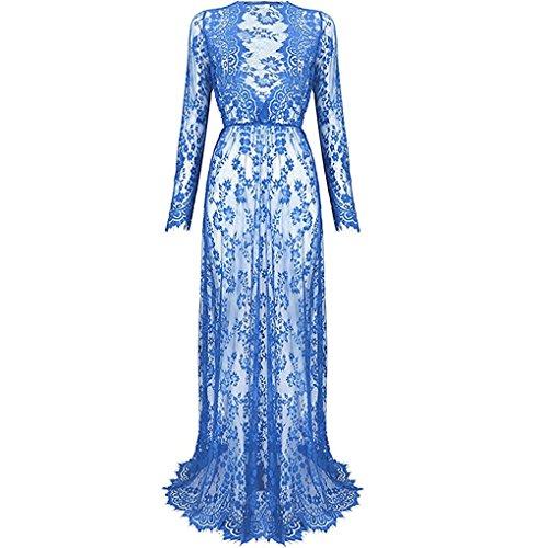 Nilover - Robe spécial grossesse - Femme bleu clair