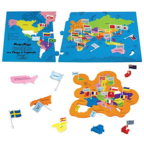 Jigsaw puzzles archives shopping with us imagimake mapology world with flags and capitals educational toy for boys and girls world map puzzle for kids excellent birthday gift gumiabroncs Choice Image