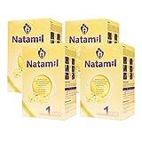 Natamil 1 Anfangsmilch, 4er Pack (4 x 800 g)