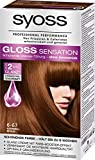 Syoss Gloss Sensation Intensiv-Tönung 6-67 Karamell Braun, 3er Pack (3 x 115 ml)