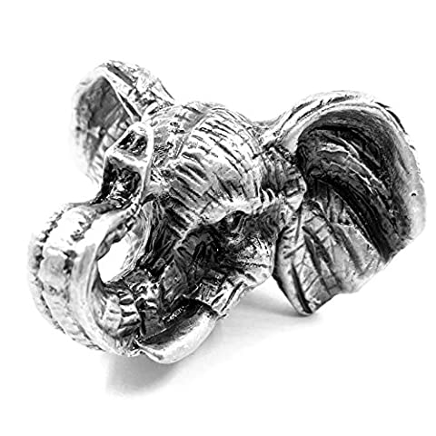 MFYS Fashion Antique Animal Shape Knobs Kitchen Knobs Drawer Pull Handles (The Elephant)