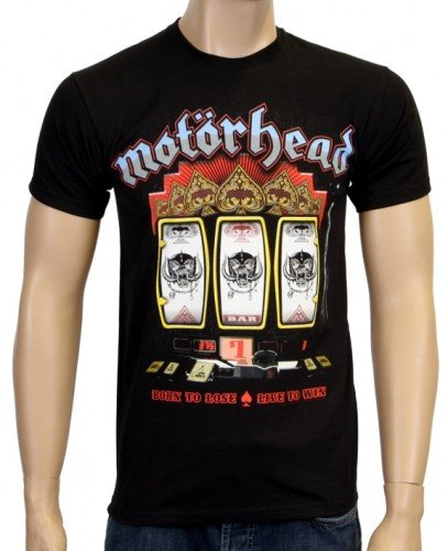 Coole-Fun-T-Shirts Motorhead slot machine - Camiseta, color...