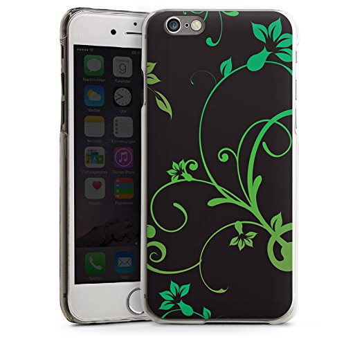 Apple iPhone 4 Housse Étui Silicone Coque Protection Guirlandes de fleurs Fleurs Fleurs CasDur transparent