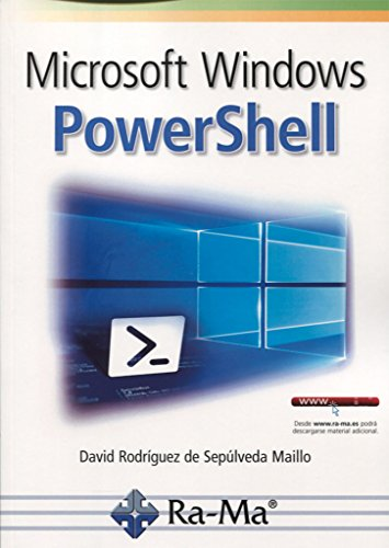 Microsoft Windows Powershell por DAVID RODRIGUEZ DE SEPULVEDA MAILLO