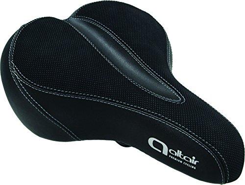 Altair Comfort Ergo Gel 270x 195mm Sattel, schwarz -