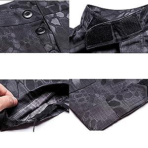 Tactical Veste Hommes BDU Combat Uniforme QMFIVE T-shirt et Pantalon Suit Woodland Camo pour Guerre Guerre Armée Militaire Paintball Airsoft Hunting Shooting