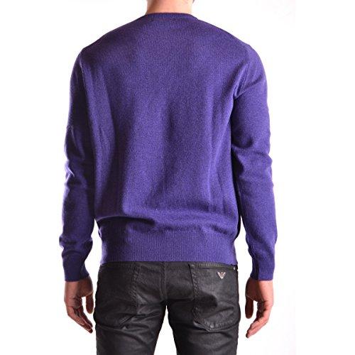 Pull col V Ralph Lauren en laine violet pour homme Violet