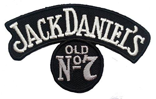 Jack Daniel's old N.7 Toppa da applicare con ferro da stiro