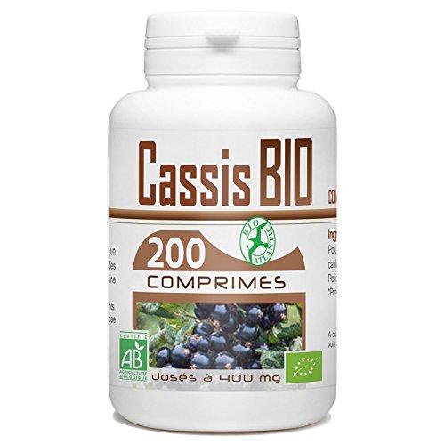 Comprimés Bio - Cassis 200