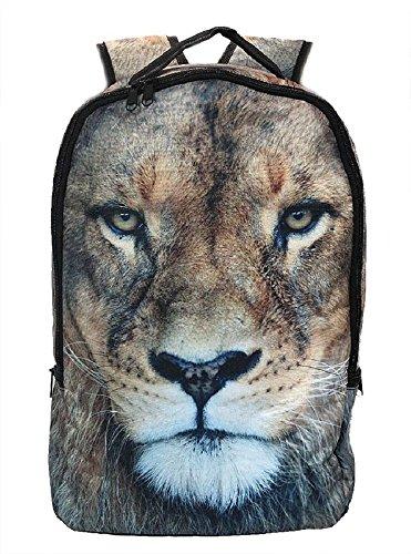 Rucksack Löwe, Tier Tiere Wildtiere Eyecatcher Rucksäcke Tasche Taschen