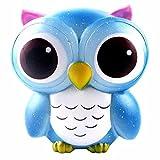 Squishy juguete ❤️ Amlaiworld Squishys Búho kawaii grandes baratos Scentsed Squishy Slow Rising Squeeze Toys Colección Juguete para niños adultos Descompresión Juguetes Regalo (B)