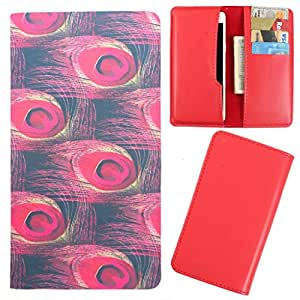 DooDa - For Huawei Ascend G700 PU Leather Designer Fashionable Fancy Case Cover Pouch With Card & Cash Slots & Smooth Inner Velvet