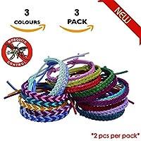 Fashionikon Mückenabwehr-Armband, Lederarmbänder, 6 Armbänder (3 Packungen) 3 Insektenabwehrbänder Natürliche... preisvergleich bei billige-tabletten.eu