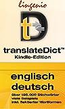 translateDict?: Lingenio Wörterbuch Englisch-Deutsch: Direktes Nachschlagen von Wörtern aus Ihrem Amazon Kindle heraus