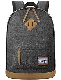 Ecocity Clasico Laptop Backpack Rucksack  Mochila escolar para Portatil