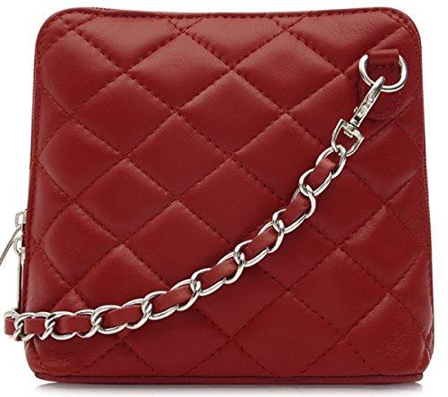 Handbag Bliss Pelle Italiana trapuntato Designer Ispirato Croce Corpo Cross