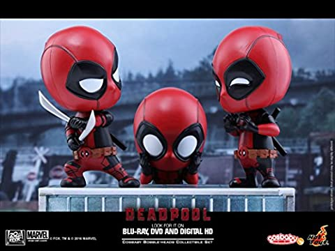 Hot Toys Deadpool Cosbaby 3-pack collectible