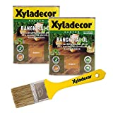 Xyladecor Bangkirai-Öl, 1,5 l, dunkles Hartholz Plege- und Imprägnier Öl für Bangkirai, Eukalyptus, Eiche, Robinie und Zeder
