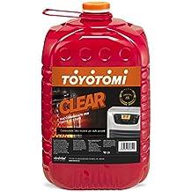 Toyotomi Clear Combustibile Ultra Inodore per Stufe Portatili, Arancione, 18 litri