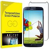 JETech Samsung Galaxy S4 Panzerglas Folie Schutzfolie Displayschutzfolie Screen Protector Retail-Verpackung