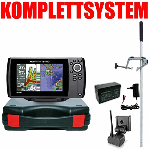 Humminbird Echolot GPS Plotter Portabel Master Edition - Helix 7 Chirp GPS G2