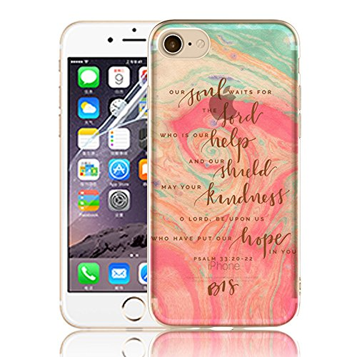 Ultra Sottile Custodia per iPhone 7 Plus iPhone 7 Plus, Cover per iPhone 7 Plus, Sunroyal Creativa Wave Cover Morbido Flessibile TPU Silicone Gel Protettivo Skin Caso Custodia Protettiva Shell Case Co Model 18